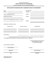 Application for Registration of Books-of Accounts